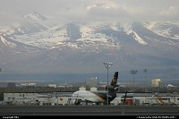 Cargo ramp at Anchorage International Airport