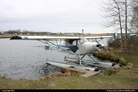 Anchorage : Seaplane at Lake Hood. Spot ANC's ATC tower in the background.