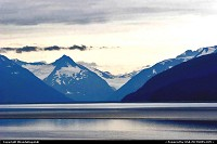 Magnificent arrangement of blues and grays in Turnagain Arm along the Seward Highway just outside of Anchorage, Alaska.