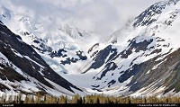 , Not in a City, AK, Byron Glacier - Portage Valley, Alaska. For more Alaska impressions: www.alaska-editions.com
