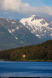 Alaska, A small part of the thousands of miles coastline of Tongass National Forest. A 17 million acres area spread throughout Southeast Alaska. For more Alaska and US web galleries: www.michelhammann-photography.com