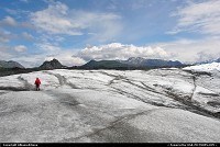 The Matanuska is a beautiful valley Glacier, 24 miles long and 4 miles wide and decending 12.000 feet to the terminus. For more webgalleries: www.alaska-editions.nl