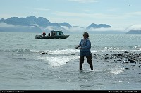 Sportfishing is Alaska's most popular sport. For the complete webgallery: www.alaska-editions.nl