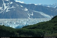 Hubbard Glacier, river of ice. For the complete webgallery: www.alaska-editions.nl