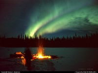 Photo by Dennis C. Anderson | Not in a city  northern lights aurora