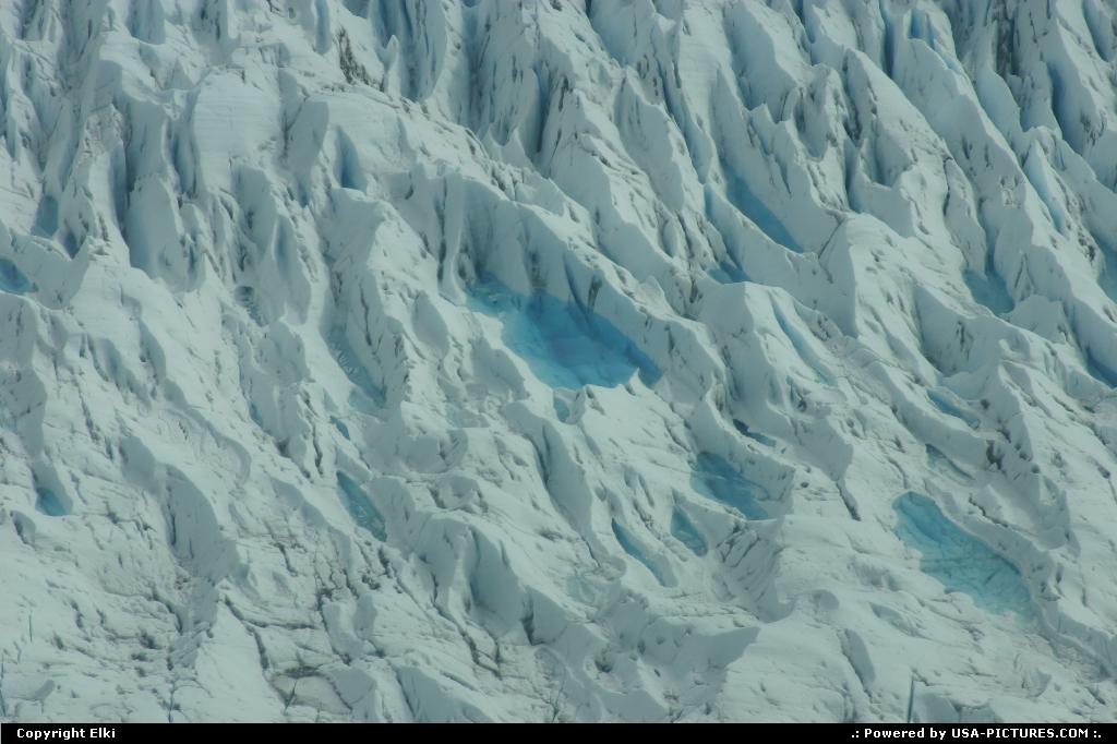 Picture by elki:Alaskaglacier blue, glacier