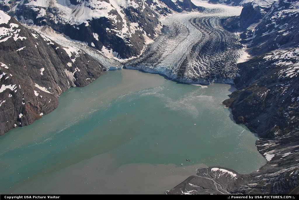 Picture by Albumeditions:  Alaska Glacier Bay  Alaska, Glacier, GlacierBayNP, flightseeing