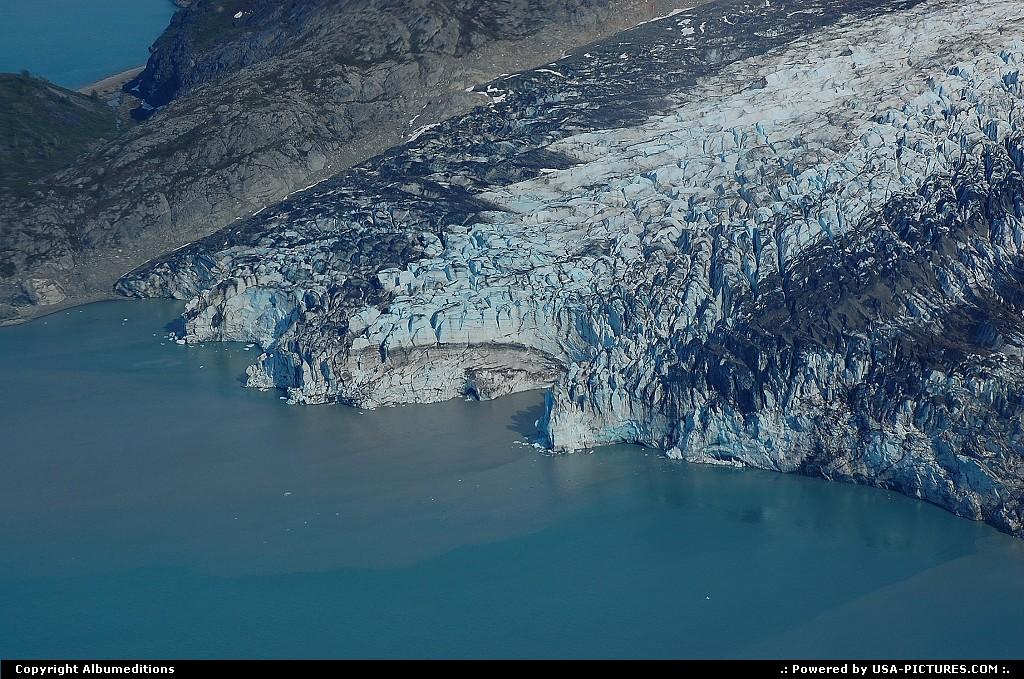 Picture by Albumeditions:AlaskaGlacier BayAlaska, Glaciers, Nature