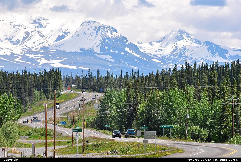 Picture by Albumeditions: Glennallen Alaska   Alaska, Landscape, Highways