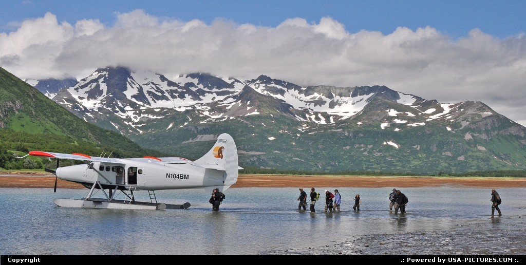 Picture by Albumeditions:  Alaska Katmai  Alaska, Flightseeing, Adventure