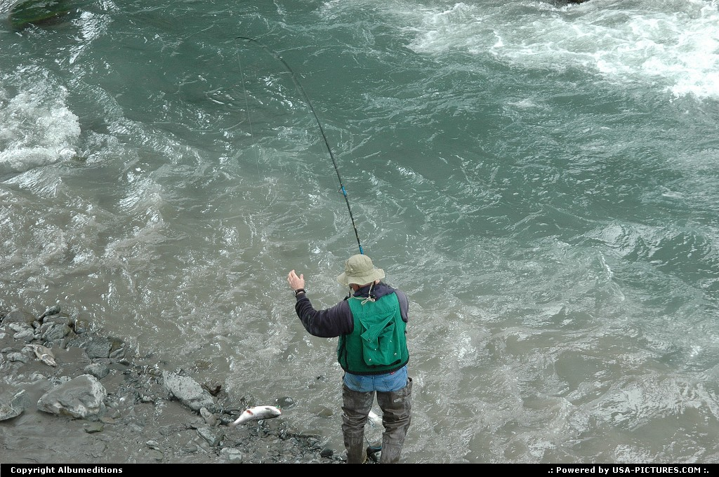 Picture by Albumeditions: Not in a City Alaska   Alaska Sportfishinh