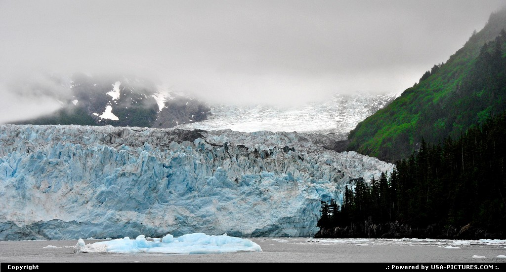 Picture by Albumeditions: Not in a City Alaska   Alaska, Glacier