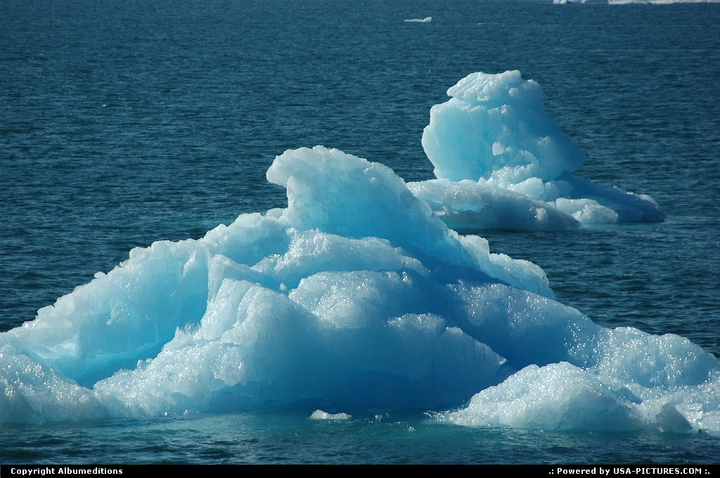 Picture by Albumeditions:Not in a CityAlaskaAlaska, Ice, Prince William Sound
