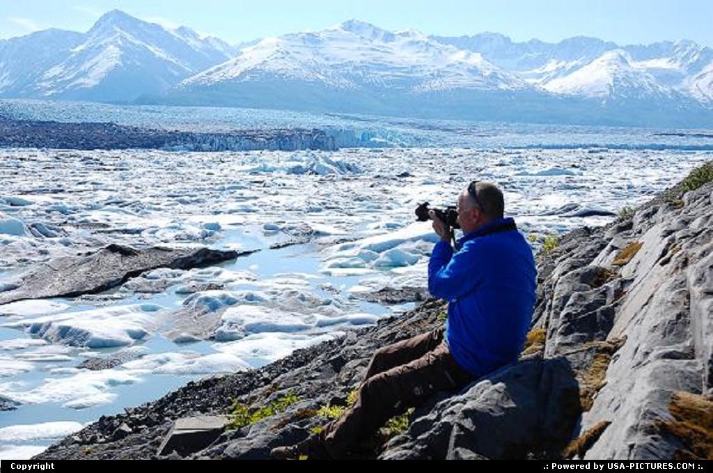 Picture by Albumeditions:PalmerAlaskaAlaska, Palmer, Glacier