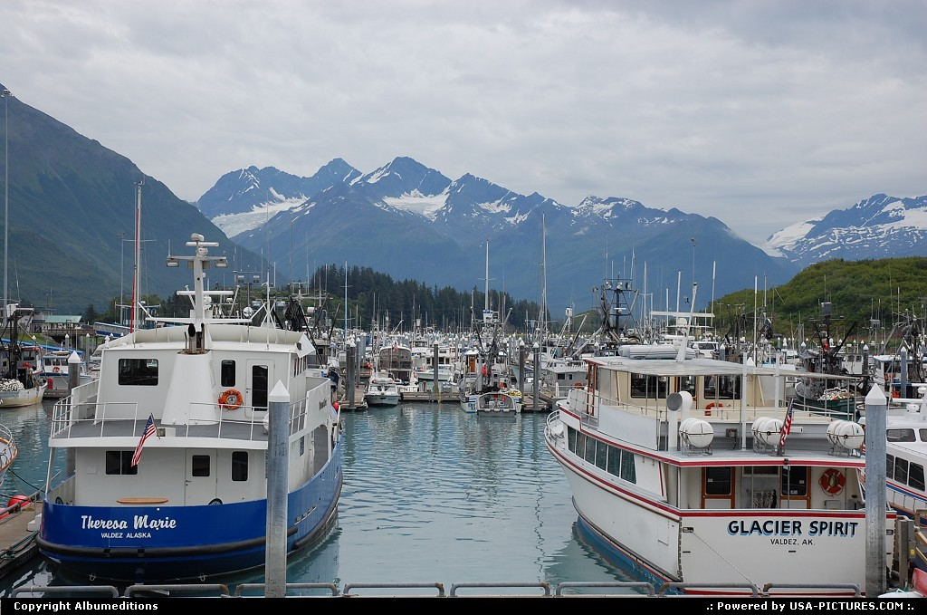 Picture by Albumeditions: Valdez Alaska   Alaska, Valdez
