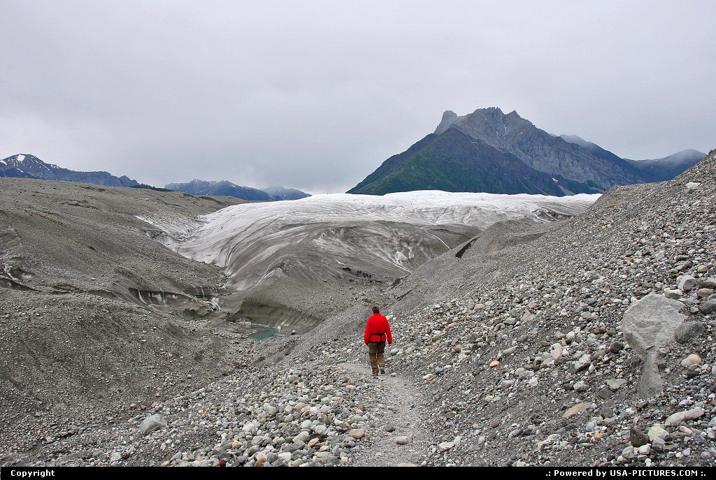 Picture by Albumeditions:  Alaska Wrangell-St Elias  Alaska, Hiking, Adventure