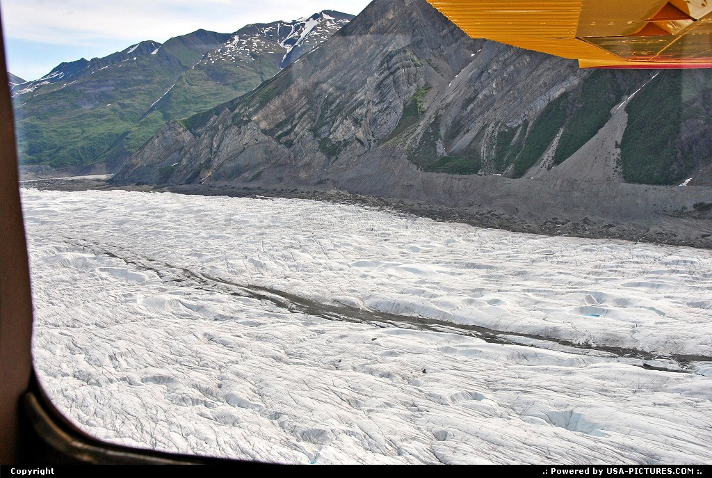 Picture by Albumeditions:  Alaska Wrangell-St Elias  Alaska, Glacier, Flightseeing