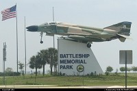 This is located at the mobile east exit. It is nice to add a stop here if your enjoy some army ship or aircraft.