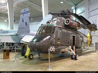 SH-2G SUPER SEASPRITE in Battleship Memorial hangar