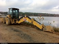 Not in a City : An Arkansas' backhoe.