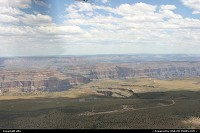 Grand Canyon national park: Arriving in Grand Canyon by plane from Vegas