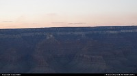 Sunset over Grand Canyon from Mather Point.