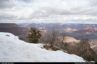 Photo by airtrainer |  Grand Canyon Grand Canyon, south rim, scenic road, snow