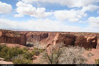 Arizona, Canyon de Chelly. Even if you don't have the time to visit the heart of the canyon, don't miss a drive on the scenic route, with lot of interesting points of view !