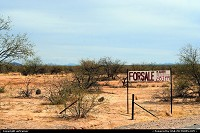need some space ? (picture taken near Tucson)