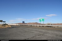 leaving Tucson on the I10, going north on the road 191, almost deserted...