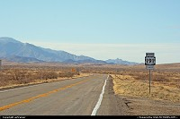 State Road 191, heading north to Safford...