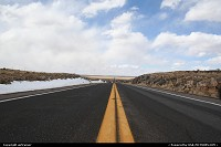 Photo by airtrainer | Hors de la ville  road, winter, snow