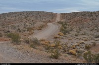 Kingman wash, this road bring you to lake mead shore