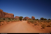 Monument Valley. Be sure to close your windows when driving on the unpaved roads :)