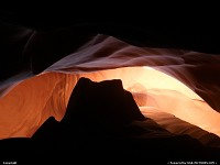 Inside UPPER ANTELOPE CANYON