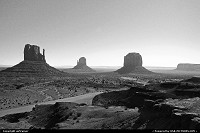 Monument Valley, the entrance of the park.