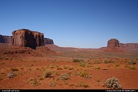 Monument Valley. View from Artist Point.