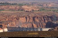 Arizona, Glen Canyon Dam & Bridge.