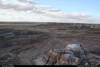 Petrified Forest national park: Petrified Forest / Painted Desert NP