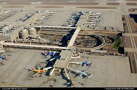 Photo by LoneStarMike | Phoenix  airport, aerial, terminal