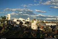 Photo by elki | Tucson  boneyard, plane, planes