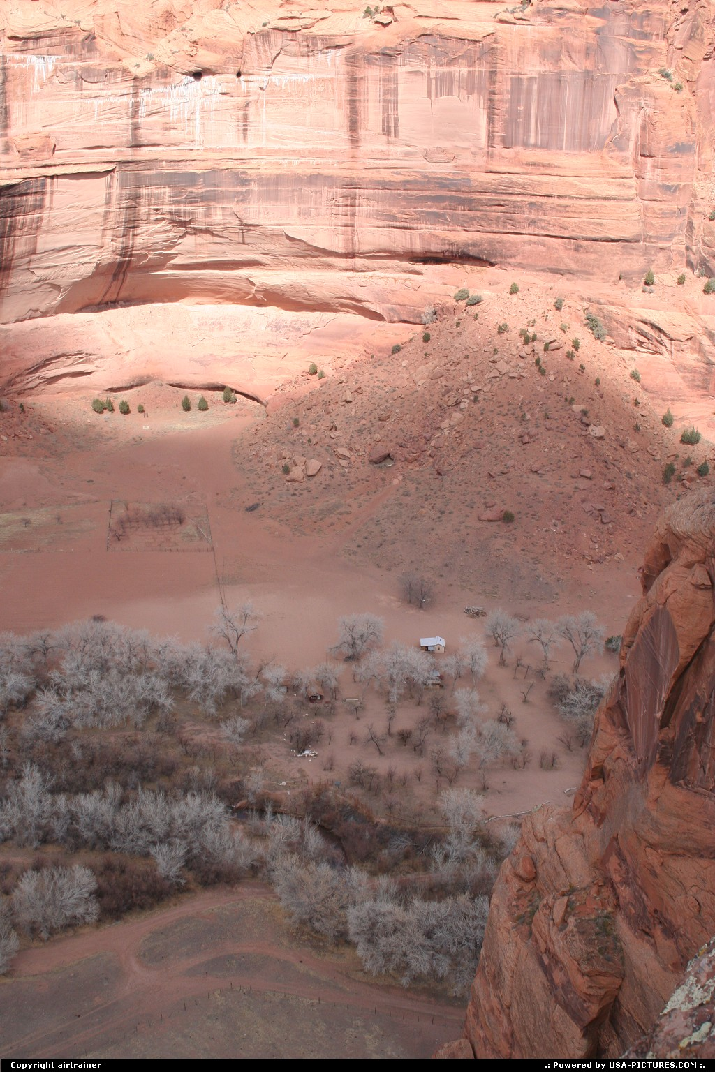 Picture by airtrainer: Hors de la ville Arizona   canyon de chelly, south rim