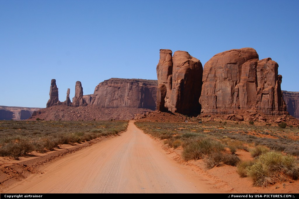 Picture by airtrainer: Not in a City Arizona   monument valley