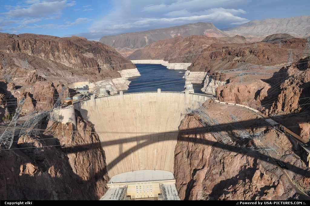 Picture by elki: Not in a City Arizona   hoover dam, bypass