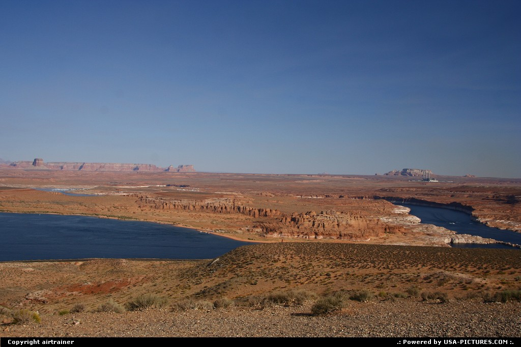 Picture by airtrainer: Not in a City Arizona   lake powell