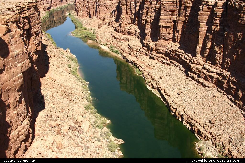 Picture by airtrainer:Not in a CityArizonanavajo, bridge, marble, canyon, colorado