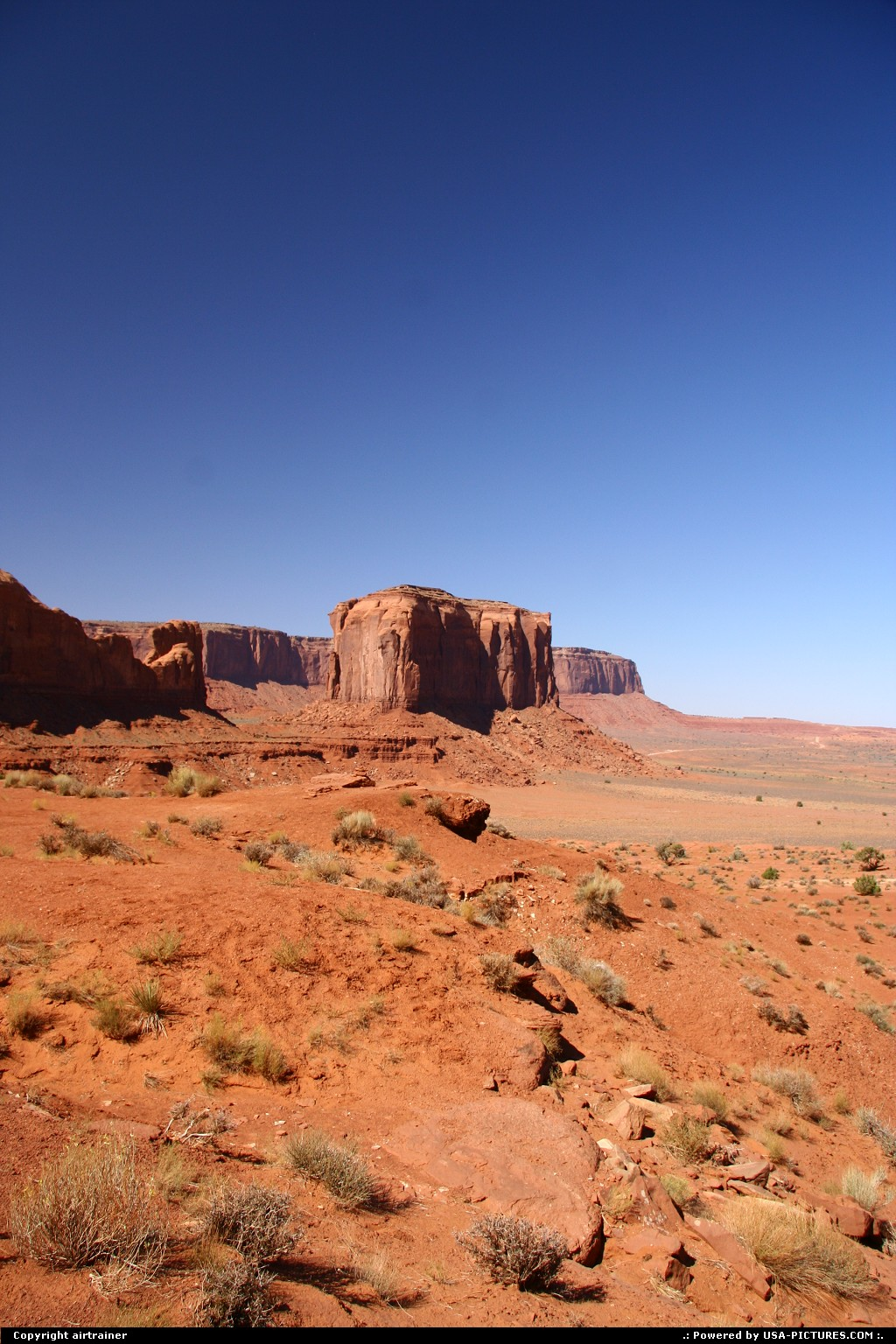 Picture by airtrainer: Not in a City Arizona   monument valley, artist point