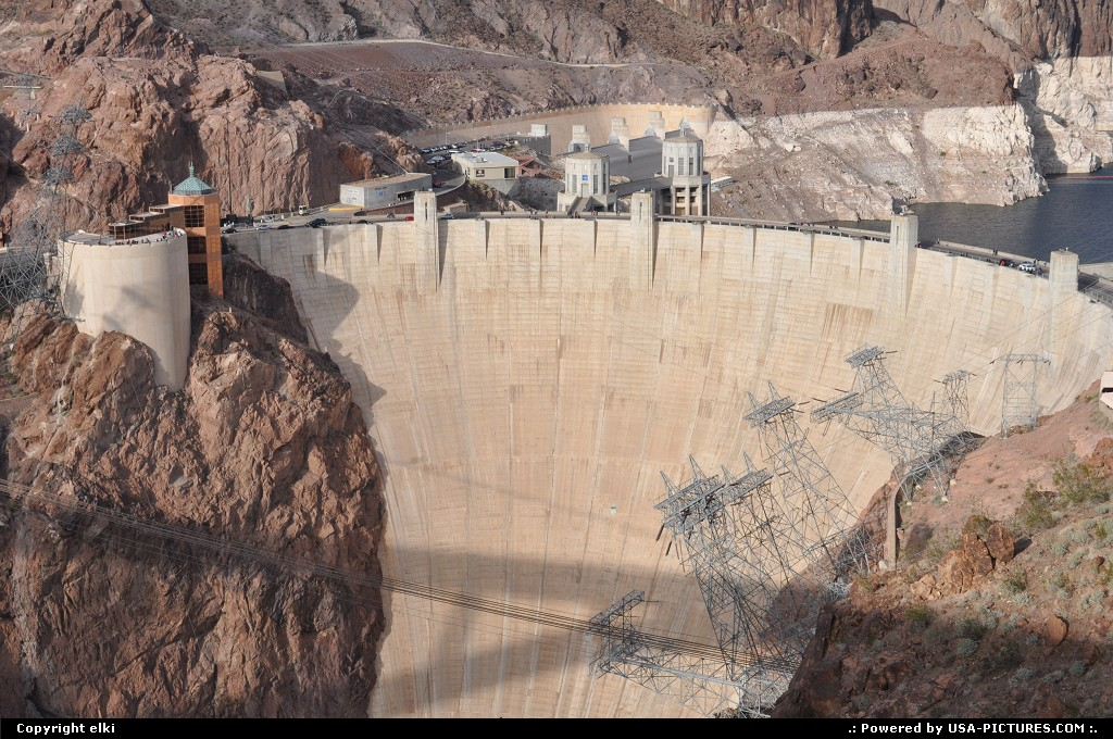 Picture by elki:Not in a CityArizonahoover dam, bypass