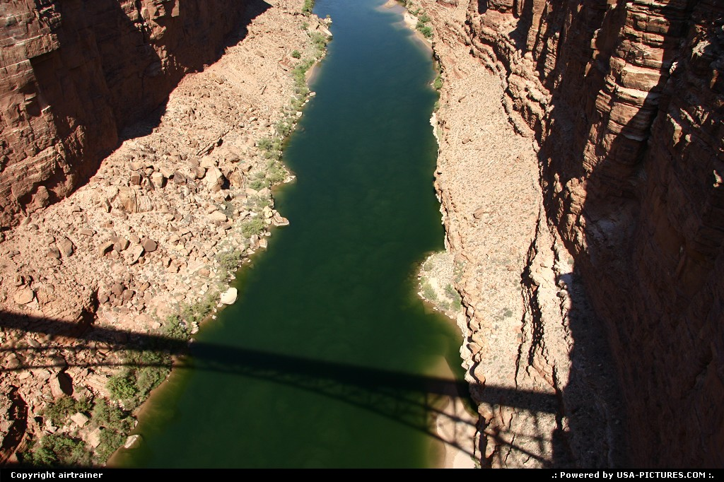 Picture by airtrainer: Not in a City Arizona   navajo, bridge, marble, canyon, colorado