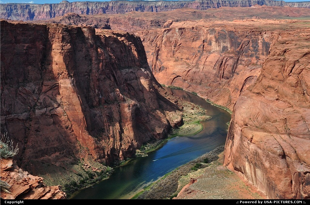 Picture by Albumeditions: Page Arizona   Arizona, Horseshoebend, Nature, ColoradoRiver